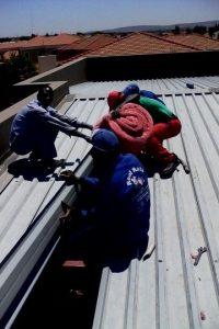 Installing Aerolite in a flat roof