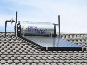 install solar geyser with electric backup